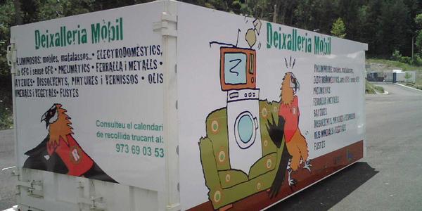 Deixalleria mòbil Taüll/Pla de l'Ermita