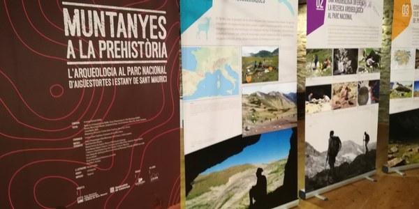 Exposició Muntanyes a la Prehistòria