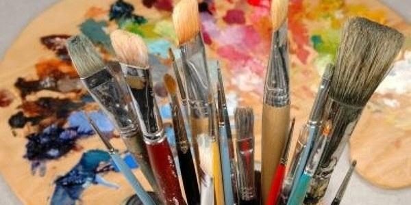 Tècniques de pintura al Casal Cívic del Pont de Suert