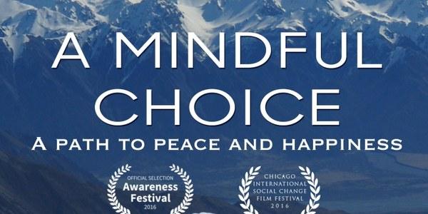 """Projecció del documental """"A mindful choice"""""""