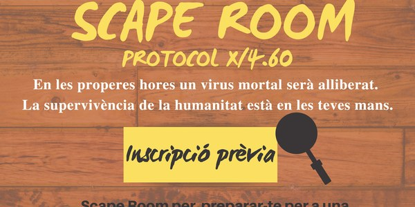 SCAPE ROOM X/4.60