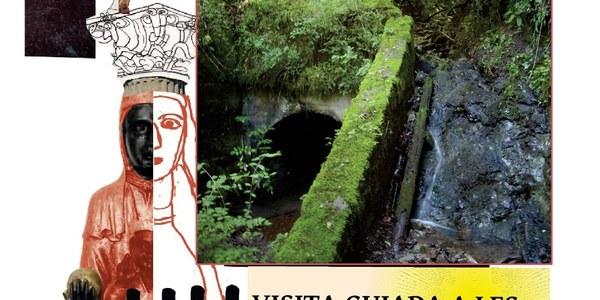 Cartell Visita guiada a les mines de Malpàs