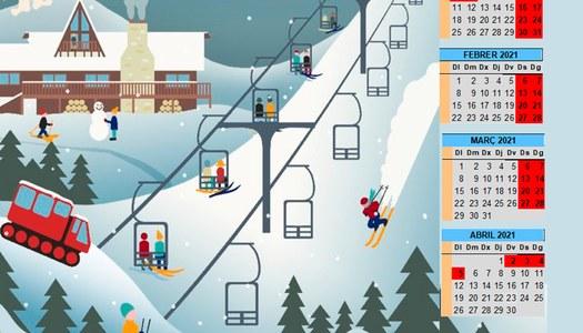 Aquest cap de setmana s'activa el servei de Bus de la Neu
