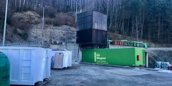 Obertura deixalleria comarcal Alta Ribagorça