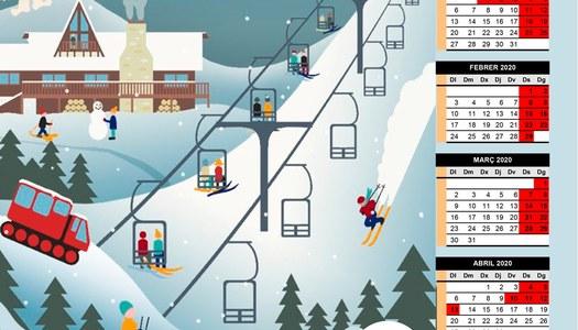 El Bus de la Neu es posa en marxa pel Pont de la Puríssima