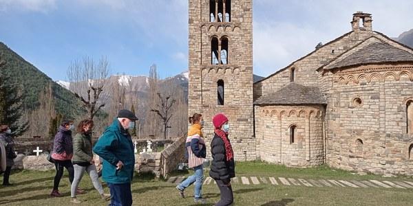 El conjunt romànic de la Vall de Boí registre més de 3600 visites per Setmana Santa