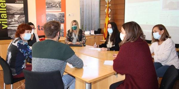 Reunió de treball promoció socioeconòmica