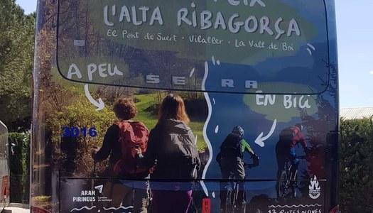 El Consell Comarcal impulsa una campanya de promoció de la comarca amb la retolació d'un autobús ALSA