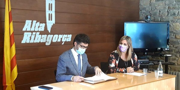 El Govern destinarà 4,4 milions d'euros per estendre la fibra òptica a la comarca