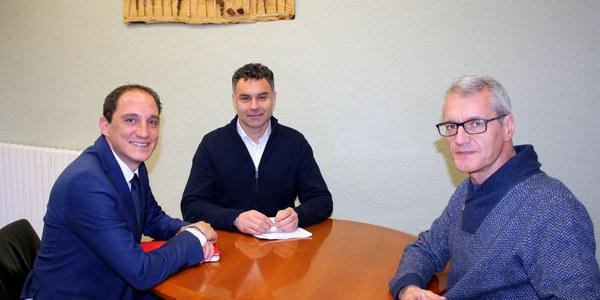 L'Alta Ribagorça reclama al subdelegat del govern espanyol a Lleida millores en les connexions viàries