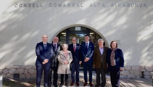 El president de la Generalitat, Quim Torra, encapçala la cloenda dels actes commemoratius del 30é aniversari