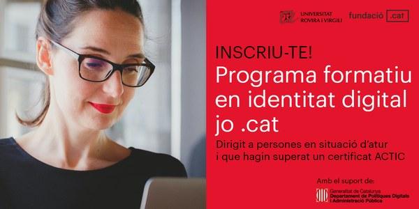 """El telecentre promou el programa formatiu gratuït en Identitat Visual """"Jo.cat"""""""