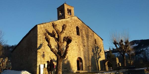 Els aprenents de català coneixen els orígens de les construccions romàniques