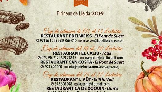 En marxa les 1es Jornades Gastronòmiques de l'Alta Ribagorça