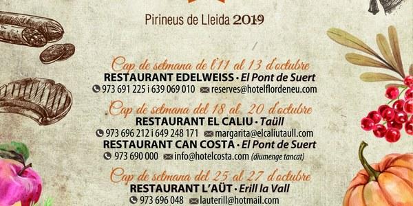 Jornades Gastronòmiques Alta Ribagorça