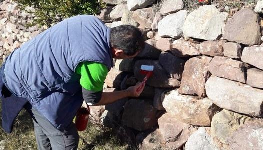 Es comença a treballar en la nova senyalització de la via Aran-Pirineus del Camí de Sant Jaume