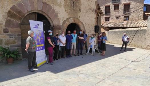 """Es presenta el nou producte turístic de senderisme """"Via Aran–Pirineos. Camino de Santiago"""""""