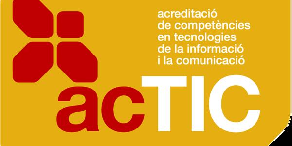 Formació en competències TIC - Acreditació ACTIC