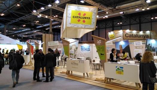 L'Alta Ribagorça es promociona a la 40a edició de la Fira a Madrid