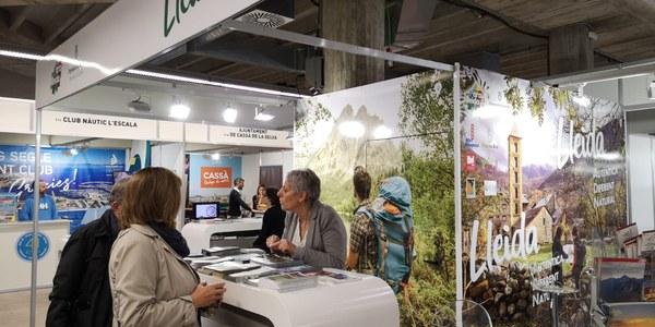 L'Alta Ribagorça es promociona a Lleida i Girona
