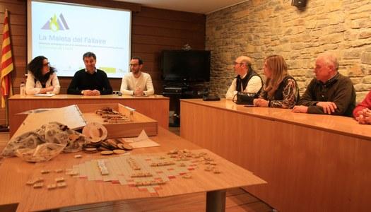 La comunitat fallaire de la Ribagorça valida el material didàctic sobre les falles promogut per l'UDL