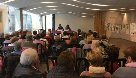 La XII Jornada Comarcal de les Dones a l'Alta Ribagorça reuneix una vuitantena de participants