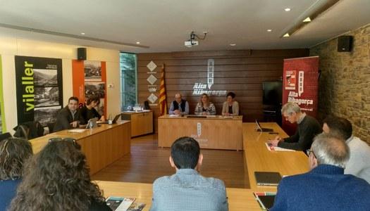 Les administracions treballaran per fer realitat la fibra òptica a la comarca al 2021