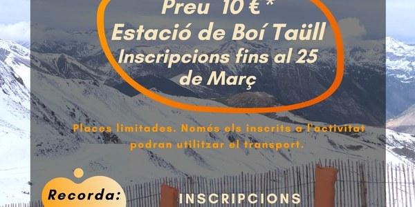 L'Oficina Jove de l'Alta Ribagorça organitza la 5a Esquiada Jove Comarcal