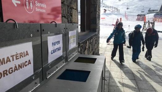 Noves iniciatives de prevenció i reciclatge als centres escolars i a l'estació d'esquí de Boí Taüll