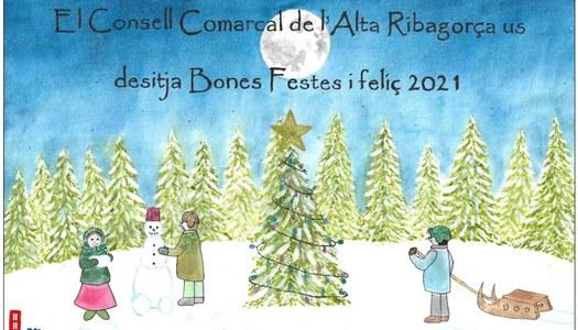 Una alumna de 4t d'ESO, guanyadora del I Concurs Solidari Postal de Nadal