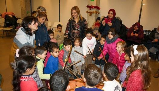 Una seixantena de nens i nenes participen de la Tronca Solidària