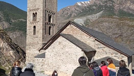 VISITES GUIADES PER SETMANA SANTA DES DEL CENTRE DEL ROMÀNIC DE LA VALL DE BOÍ
